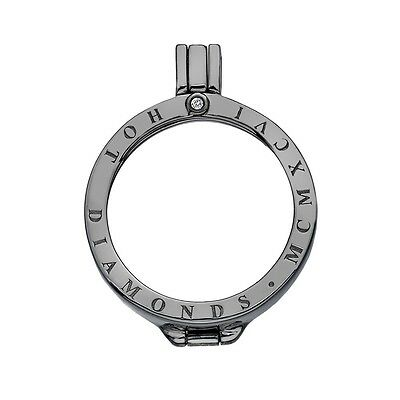 Emozioni - Dp520 25Mm Keeper Black Rhodium Rrp$169.95