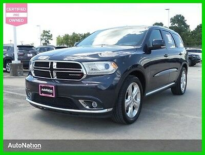 2014 Dodge Durango Limited 2014 Limited Used Certified 3.6L V6 24V Automatic Rear Wheel Drive SUV