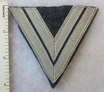 Vintage ORIGINAL WW2 GERMAN LUFTWAFFE AIR FORCE OBERGEFREITER RANK CHEVRON PATCH