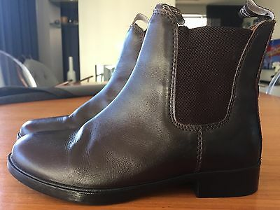 AS NEW Eurohunter horse riding boots ankle boots size 38 AS NEW