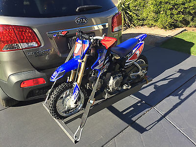 2015 Yamaha TTR50, Turn-key package. Custom Tow rack, riding and safety gear