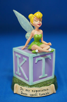 "Tinker Bell In my experience, Boys spell trouble 5"" Figurine Disney Retired"