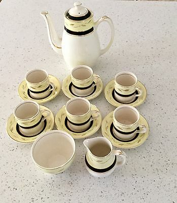 Vintage Coffee Set by Midwinter Of Staffordshire, England.
