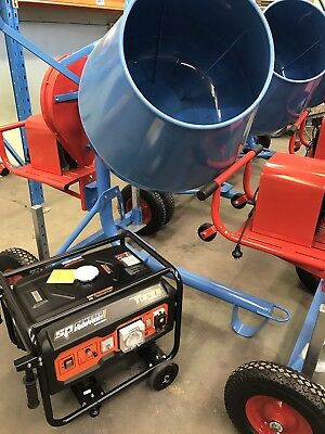 Heavy Duty 3.5cf Electric Mixer And Generator Combo