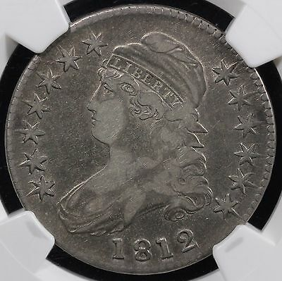 1812 50c Capped Bust Half Dollar NGC VF 25