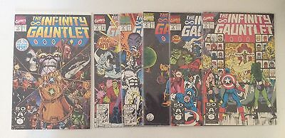 The Infinity Gauntlet 1-6 Marvel 1991 Complete Thanos Avengers VF NM