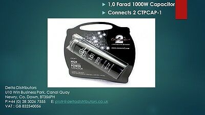 1,0 Farad 1000W Capacitor Connects 2 CTPCAP-1 CLEARANCE SALE