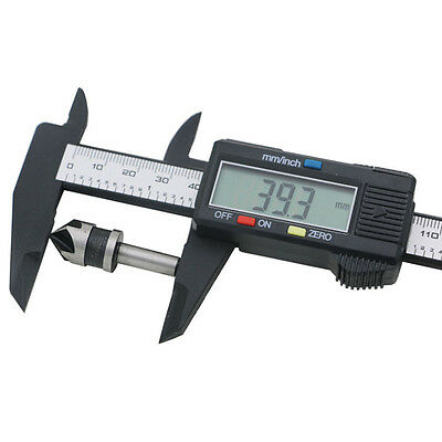 Convenience LCD Digital Electronic Carbon Fiber Vernier Caliper Gauge Micrometer