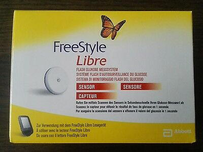1X new Freestyle Libre Sensor + free international shipping