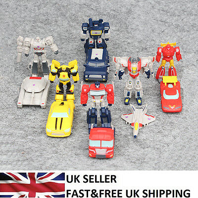 Transformers Autobots Decepticons Robots Car Tank 12 PCS Action Figure Toy UK