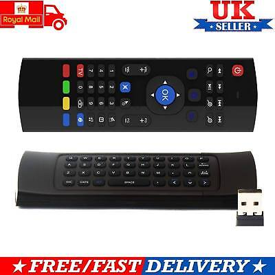 Fly Air Mouse 2.4GHz Wireless Keyboard Remote For PC Smart Android TV Box MX3 M8