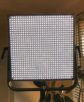 2 Large (300 x 300mm 900 LED) Video Lights, cases, stands, Sony V-Mount Plates