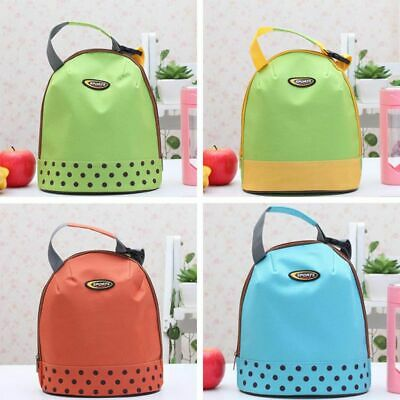 AU Thermal Picnic Cooler Insulated Lunch Bag Kids School Travel Carry Tote Boxes