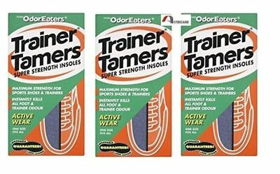 Odor-Eaters Trainer Tamers - 1 Pair Pack Of 3