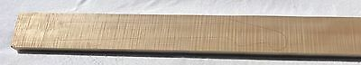 """Red Leaf 4A Flame Maple 39.75"""" Guitar Neck Blank # 001"""