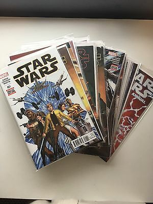 Marvel Star Wars issue #1 - #20 collection