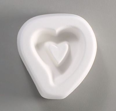 Holey Hollow Heart Casting Mold - Glass Fusing
