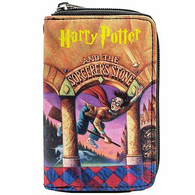 New Official Harry Potter Sorcerers Stone Quidditch Orange Clutch Purse
