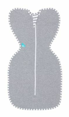 Love to Dream Swaddle Up Original 1.0 Tog  Grey Extra Small 2 - 3.2 kg