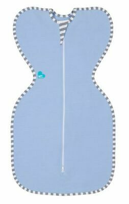 Love to Dream Original Zip Up  Baby Swaddle Blue Small 3 - 6 kgs Free Shipping