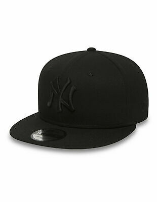 New Era Mens 9Fifty Baseball Cap.new York Yankees Black Flat Peak Snapback Hat 4