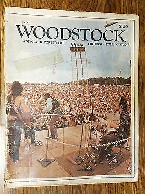 Woodstock A Special Report By The Editors Of Rolling Stone 1969 - B4