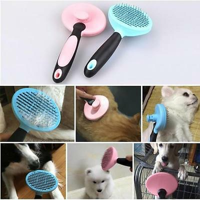 Dog Cat Steel Needle Comb Grooming Brush Pets Massage For Long Short Hair Fur