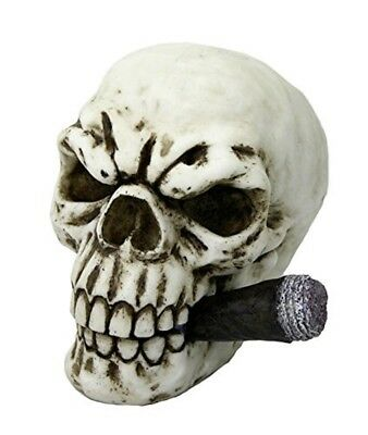 """Collectable - Skull with Cigar """"Boss"""" - Myths, Legends, Cultures & Fantasy"""