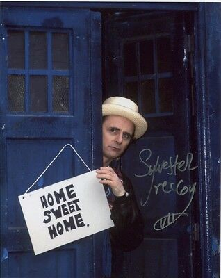 SYLVESTER McCOY In Person Signed Photo - Doctor Who - AG499