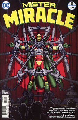 MISTER MIRACLE ISSUE 1 - SOLD OUT DC COMICS FIRST 1st PRINT - TOM KING!