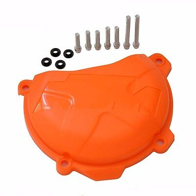 Engine Right Clutch Case Cover Guard Protector for KTM SXF XCF EXC XCF 250 350