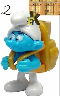2017 KINDER SURPRISE Smurfs The Lost Village # HEFTY SMURF