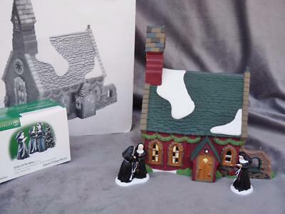 RETIRED DEPARTMENT 56 DICKEN'S VILLAGE~DUDDEN CROSS CHURCH &SISTERS Of ABBEY MIB