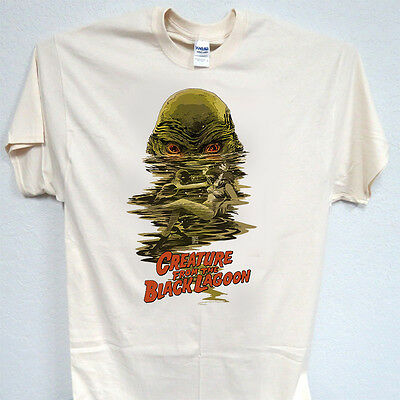 CREATURE of the BLACK LAGOON, Cool, Ivory, T-Shirt Sizes: S-5XL, T-2006, L@@K