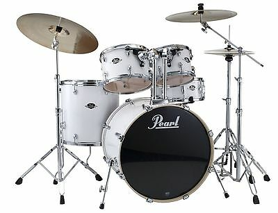 Pearl Export 5 Piece Drum Kit Shell Pack Pure White EXX725PC33