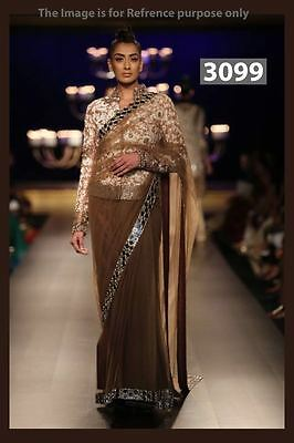 Bollywood Replica Designer Indian Pakistani Party Wear Ethnic Saree Sari New