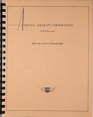 Aeronca Engine Manual ver.1938  E-107A, E-113, E-113A, E-113B & E-113C engines
