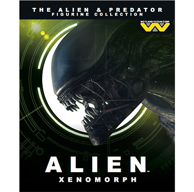 EAGLEMOSS  Alien & Predator Issue # 1 Alien Xenomorph Figurine Collection-NEW