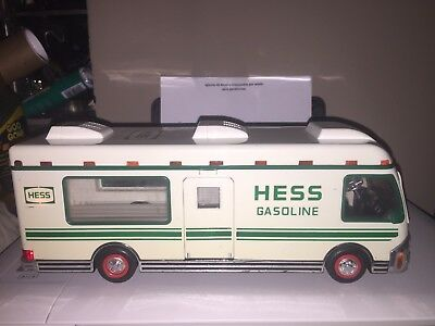 1998 Hess Gasoline Recreation Motor Home White/green With Working Lights