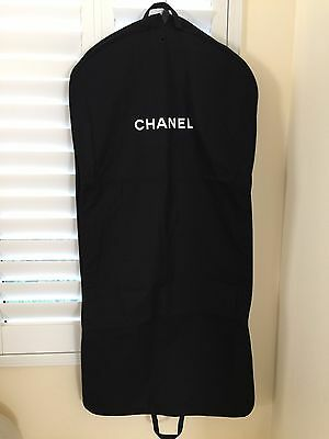 Authentic New CHANEL Garment CANVAS Travel Bag Black for Dress Gown Pants Suits