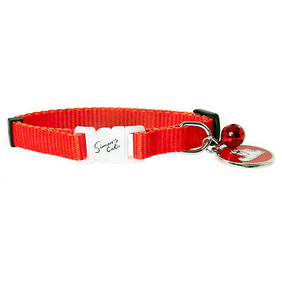 Karlie Flamingo Simons CHAT collier pour chats rouge, NEUF