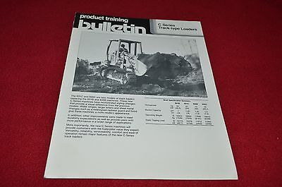 Caterpillar 931C 935C Track Type Crawler Loader Dealer's Brochure DCPA8