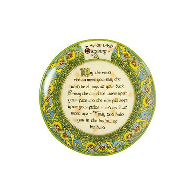 May the Road Rise to Meet you Irish Blessing Plate