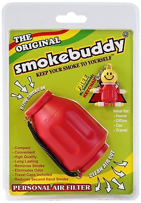 Smoke Buddy 0159-RD Personal Air Filter Red