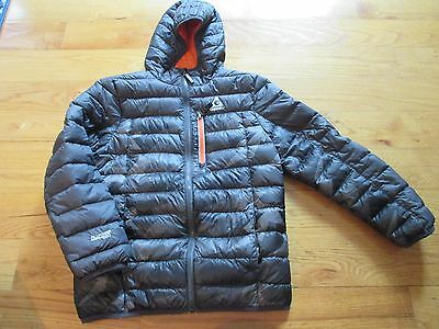 Boys Gerry Coat size 10/12 gray with orange winter coat