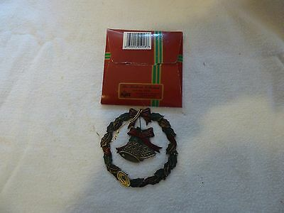 Russ Heirloom Collection Vintage Metal Wreath With Bell Ornament
