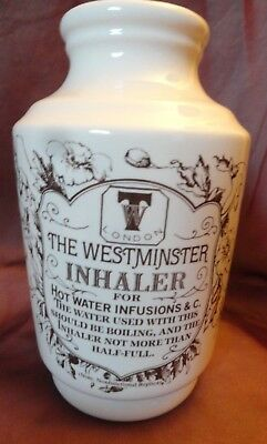 Westminster Inhaler 1800's Reproduction with cork medical science