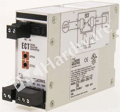 Moore Industries ECT/4-20MA/4-20MA/117AC 4-Wire Signal Isolator & Converter