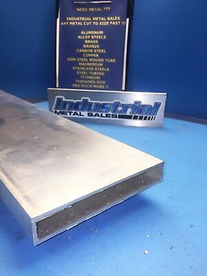 "1"" x 6"" x 24""-Long x 1/8"" Wall 6063 T52 Aluminum Rectangle Tube-->1"" x 6"" x .125"