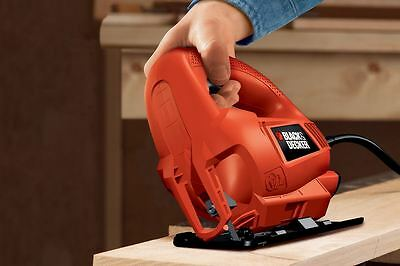 Black & Decker 400W Jigsaw with 5 Blades (KS500A-XE)